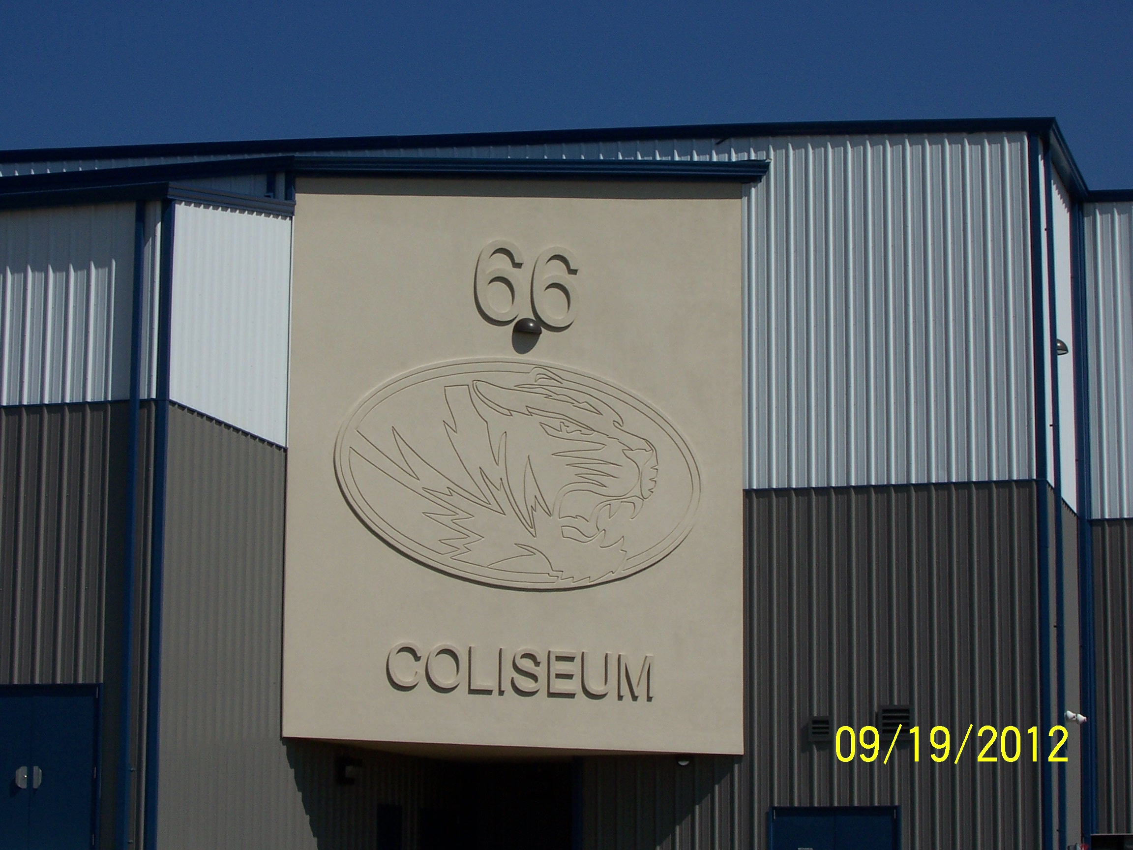 Route 66 Coliseum sign