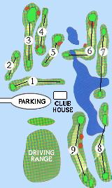 Map of Golf Course